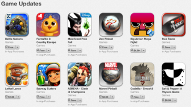 Apple Rolls Out Section for 'Best New Game Updates' on App Store