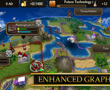 Civilization Revolution 2 iOS Launch